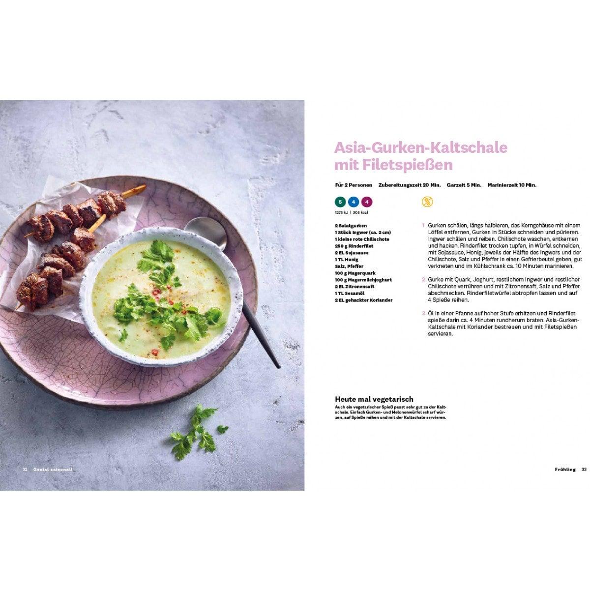 "WW Kochbuch ""Genial saisonal!"" - Andi Schweiger (60 Rezepte) 5"