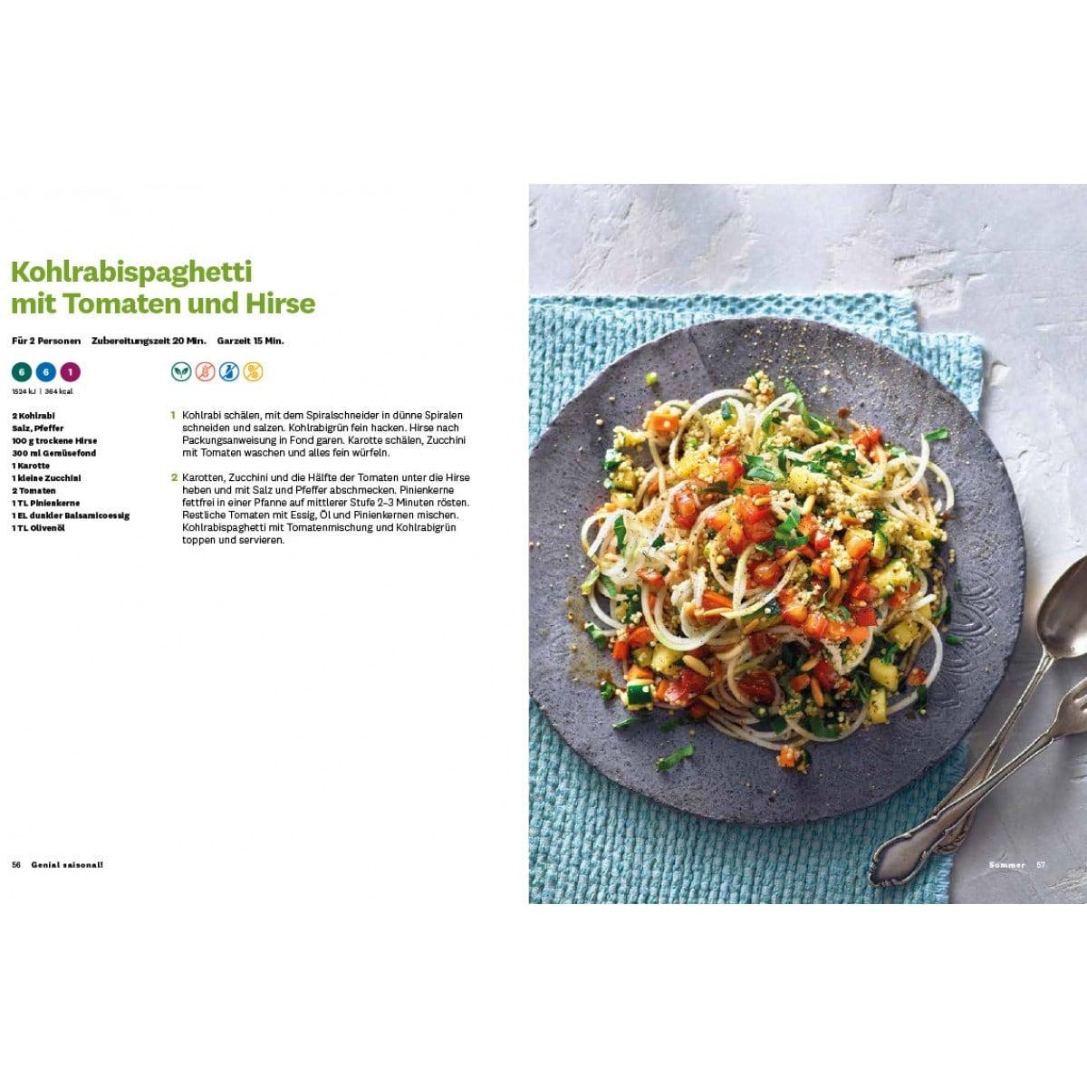 "WW Kochbuch ""Genial saisonal!"" - Andi Schweiger (60 Rezepte) 4"