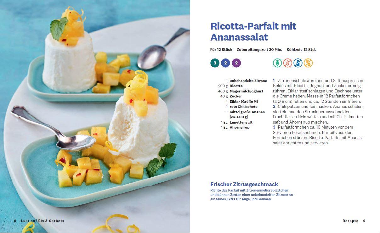 Kochbuch Lust auf Eis und Sorbet Parfait3