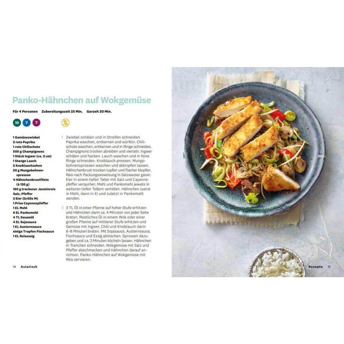 """WW Kochbuch """"Asiatisch"""", #1 Länder-Edition  (22 Rezepte) 5"""