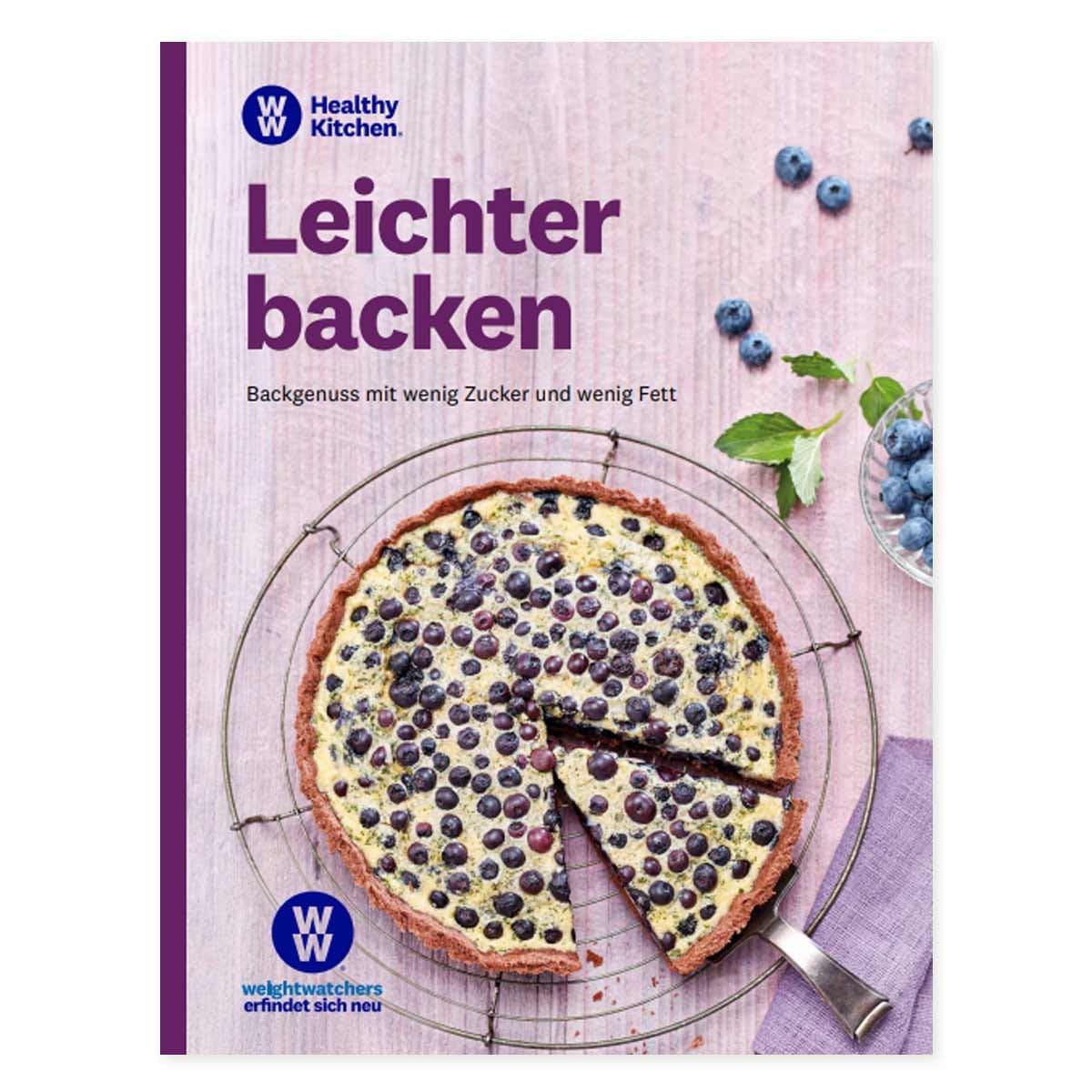 """WW Kochbuch """"Leichter Backen"""" (45 Rezepte)"""