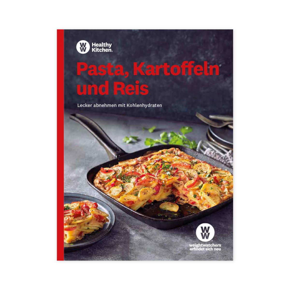 WW Kochbuch Pasta, Kartoffeln und Reis (56 Rezepte)