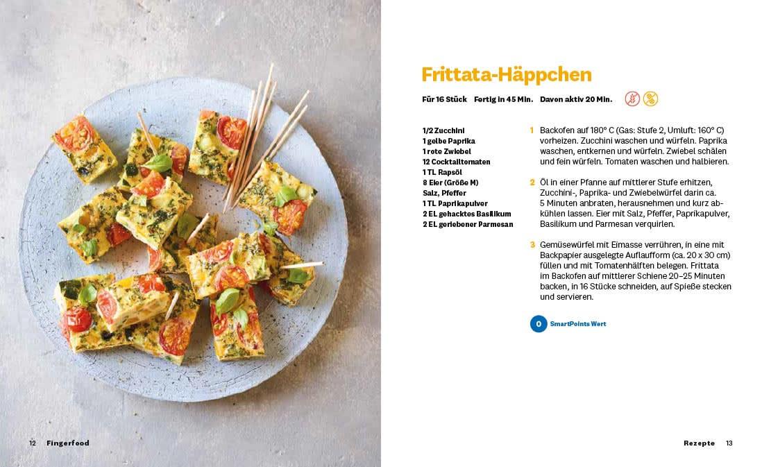 """DE: WW Kochbuch """"Fingerfood"""", #1 Quickies (20 Rezepte) 2"""