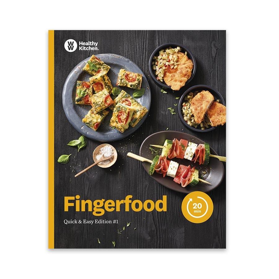 """DE: WW Kochbuch """"Fingerfood"""", #1 Quickies (20 Rezepte)"""