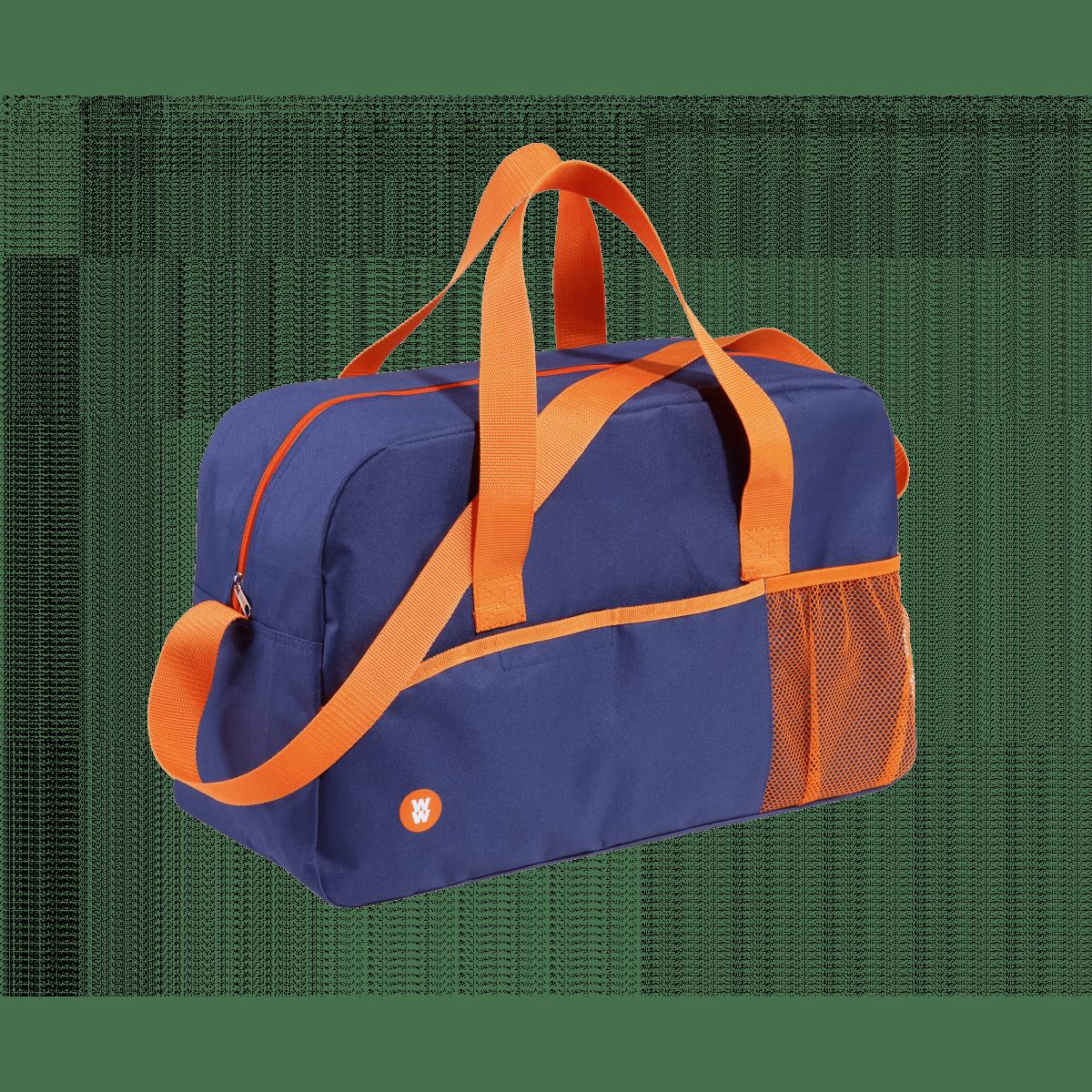 WW Sporttasche aus Polyester blau und orange